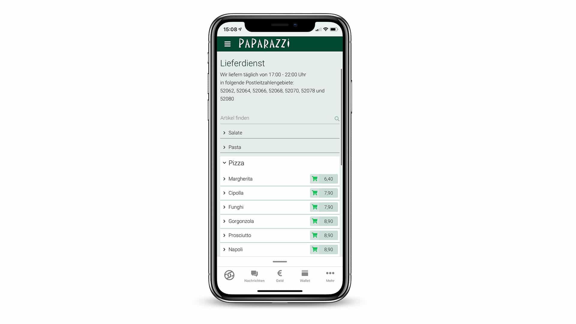 Onlineshop für Restaurants