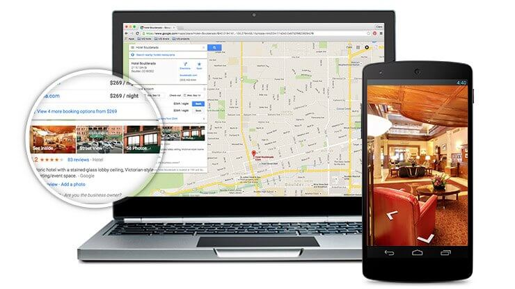 Google Street View - 360 Grad Rundänge