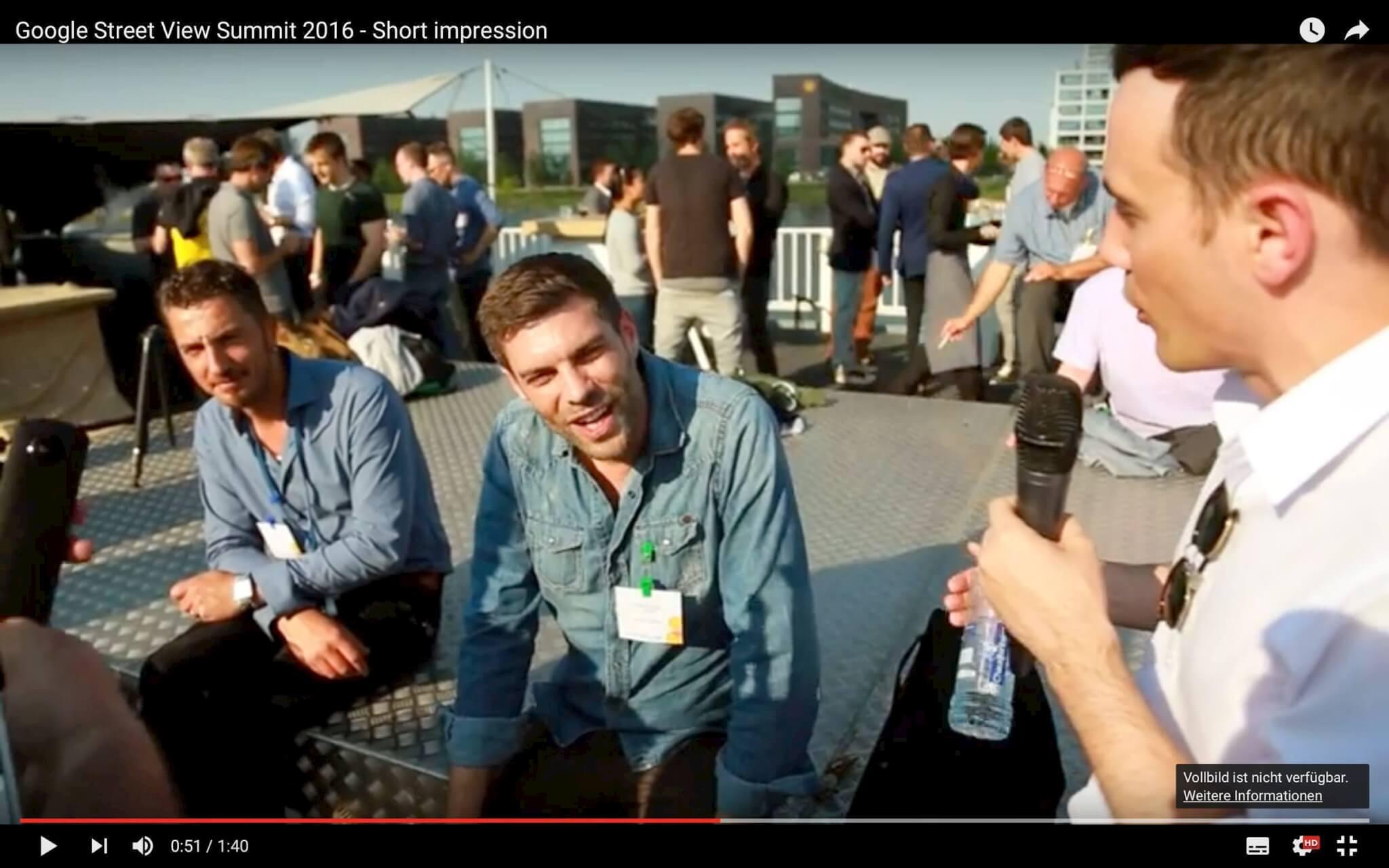 Google Street View Summit – Short Impressions