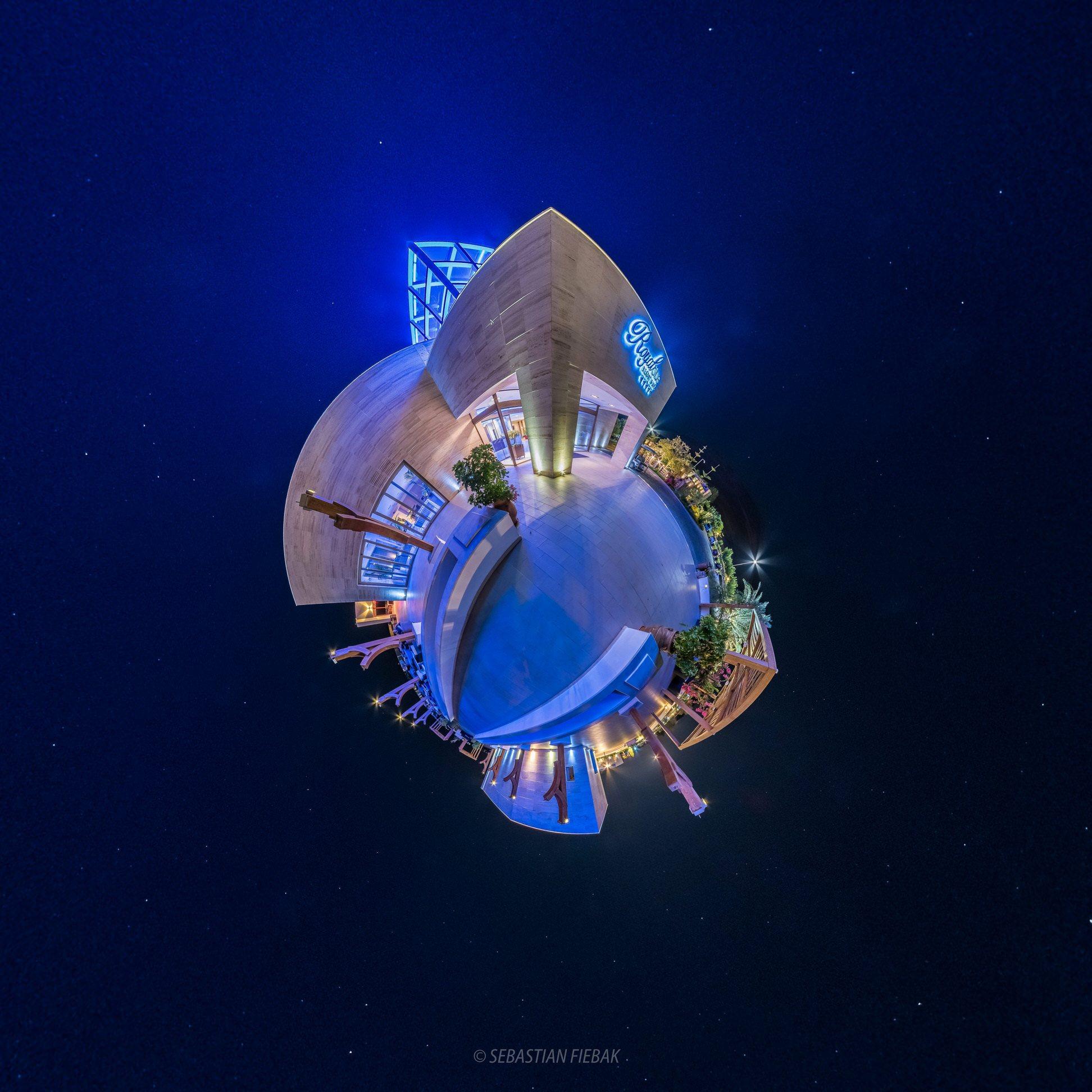 Sensimar Royal Blue Resort 360 grad little planet