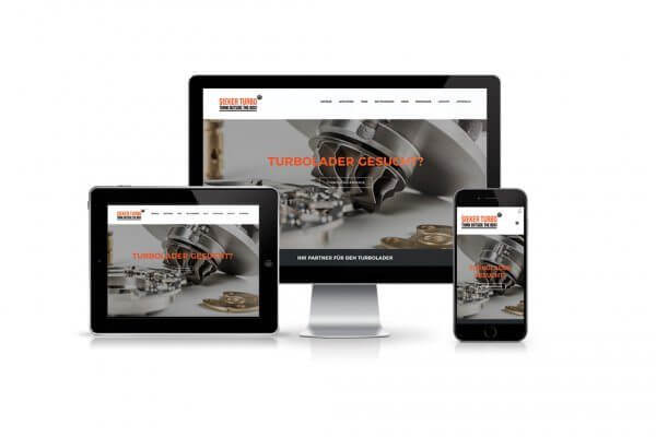 Sieker Turbo Webdesign